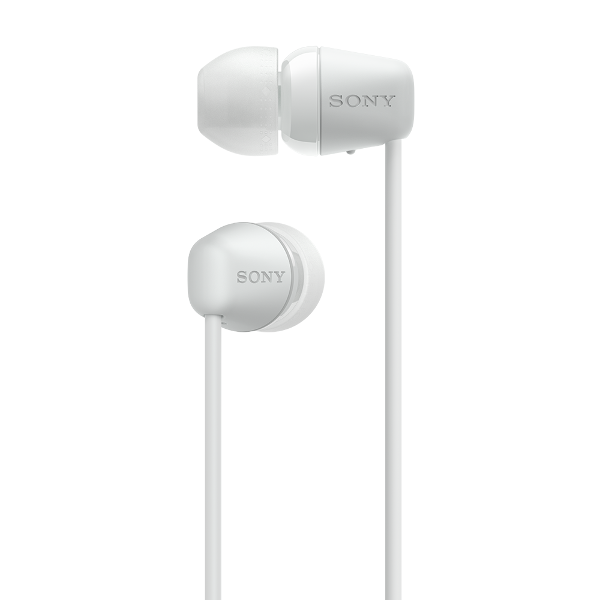 Sony WI-C200, in-ear, Bluetooth, bijele