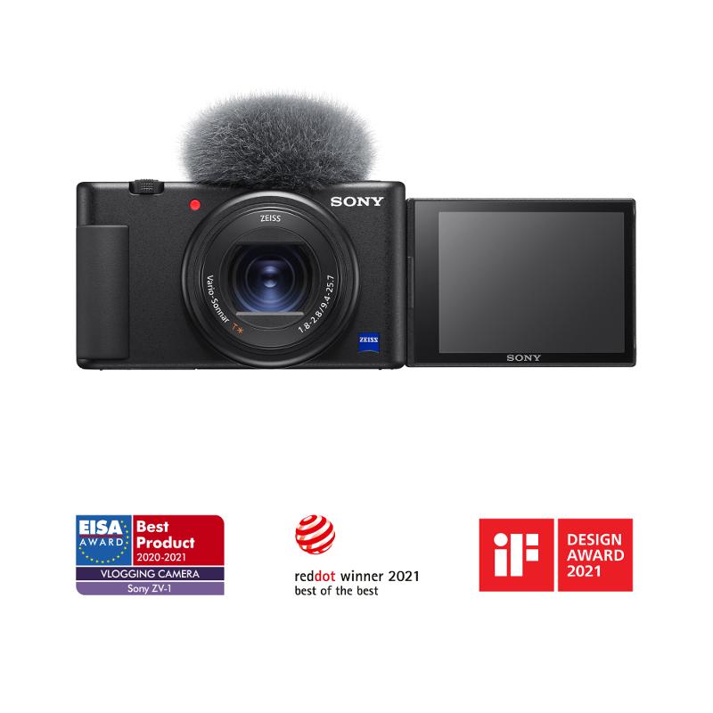 """Sony ZV-1, 20.1MP, 3"""" LCD, fotoaparat za vlogove"""