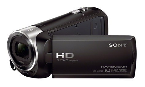"Sony HDR-CX240EB 8.9Mp/27x/2.7"" FullHD crna"