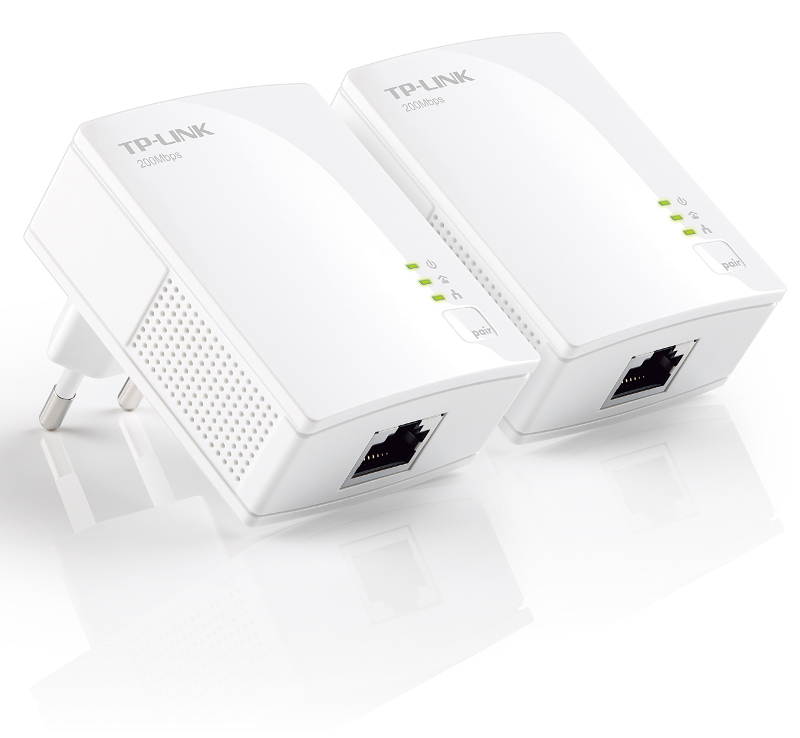 TP-Link PA2010 KIT, 200Mbps nano powerline kit