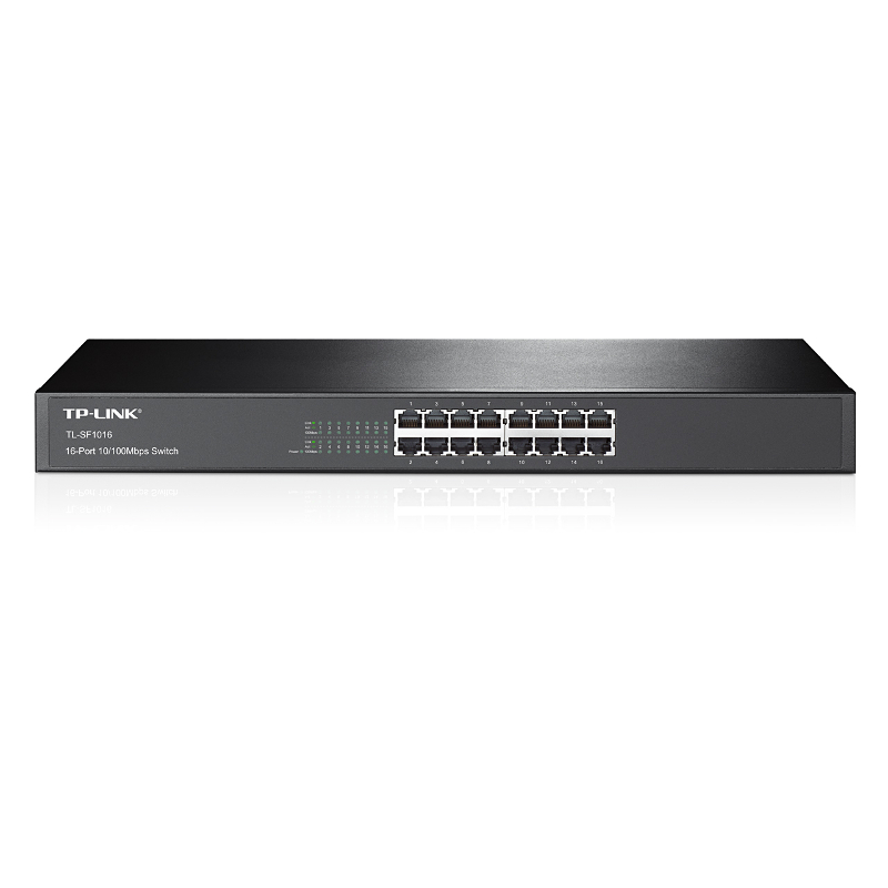 TP-Link TL-SF1016, 16-port 10/100 rack