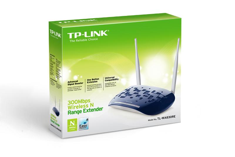 TP-Link TL-WA830RE, WLAN 300Mbps pojačalo signala