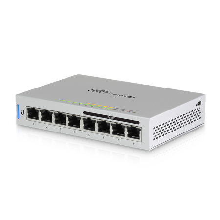 Ubiquiti UniFi Switch, 8-Port, 60W