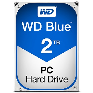 "Western Digital Blue 2TB, 3,5"", 256MB, 5400rpm"