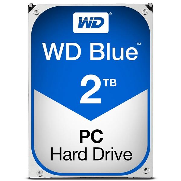 """WD Blue 2TB, 3,5"""", 64MB, 5400rpm"""