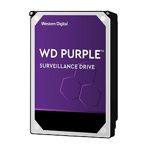 "Western Digital Purple 10TB, 3,5"", 256MB, 7200rpm"