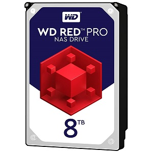 "Western Digital Red 8TB, 3,5"", 256MB 7200rpm, NAS"