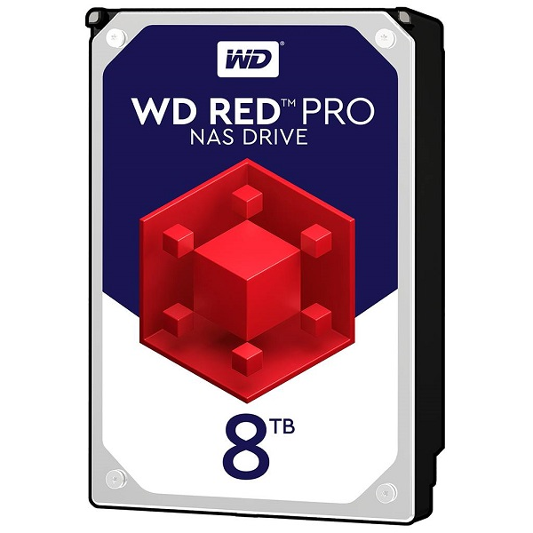 "Western Digital Red 8TB, 3,5"", 256MB 7200rpm, NAS"