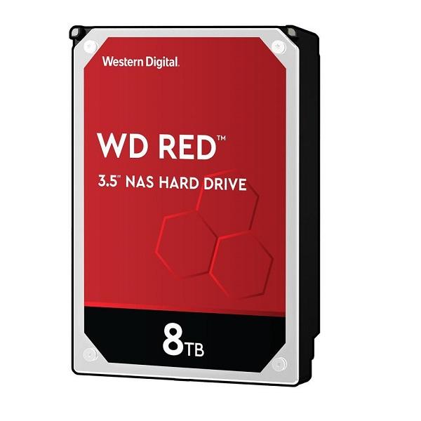 "Western Digital Red 8TB, 3,5"", 256MB 5400rpm, NAS"