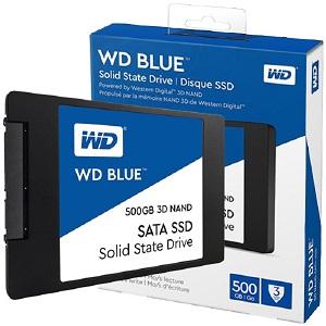 "WD Blue SSD 500GB, 2,5"", 7mm, R560/W530"