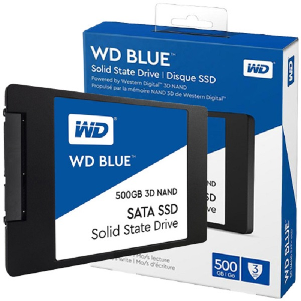 "WD Blue SSD 500GB, 2,5"", 7mm, R560/W530"