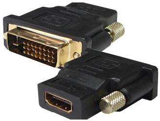 Adapter DVI 24+1 M - HDMI F